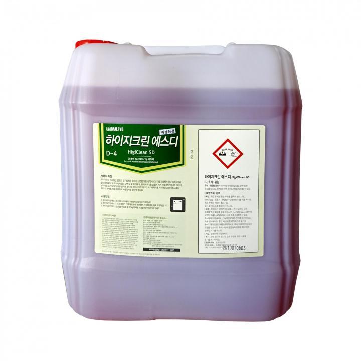 Nước rửa dùng cho máy rửa bát MALPYO HIGI CLEAN SD