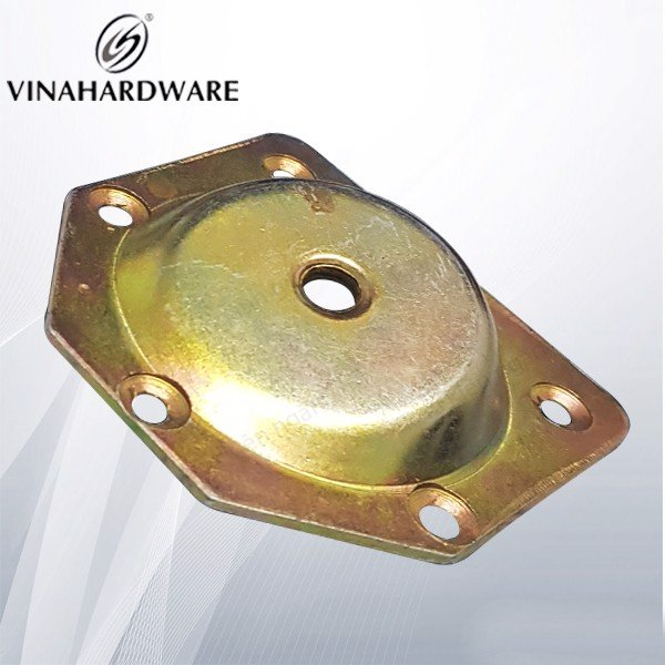 Pát sắt gia công cho chân bàn 7 màu VNH P4565Z
