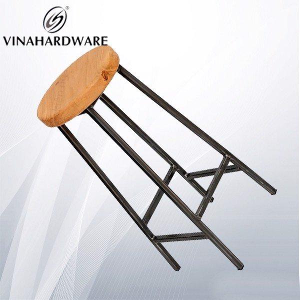Gia công khung chân ghế sắt quầy bar cao 700mm SP028381