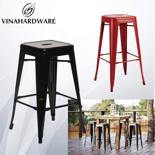Khung ghế sắt sơn tĩnh điện bar/cafe tolix SP286179