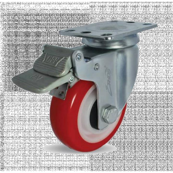Bánh xe tải trọng nhẹ PU Ethos 273URY125P01