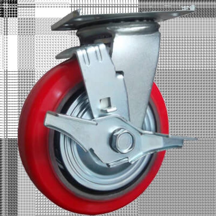 Bánh xe tải trọng trung bình PU Ethos 5040SBK/PCI