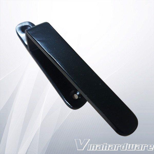 Tay nắm tủ màu đen 20x1450x55mm SP028328