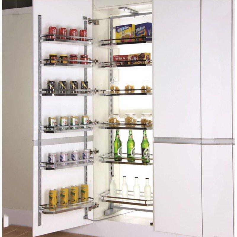 Giá kệ cho tủ chứa thực phẩm mạ crom 6 tầng cao cấp SP000163