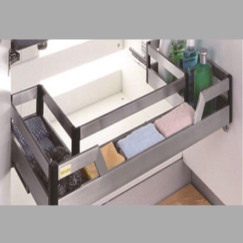Kệ để đồ đa năng bên dưới chậu rửa chén bát đĩa (nhiều kích thước) SP000097
