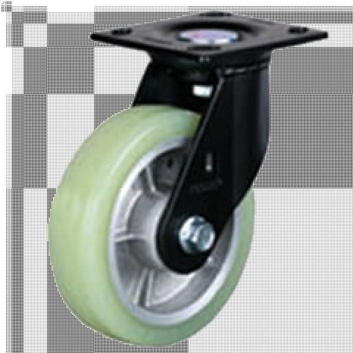 Bánh xe tải trọng trung bình PU Footmaster PM-150A-SF-HUD