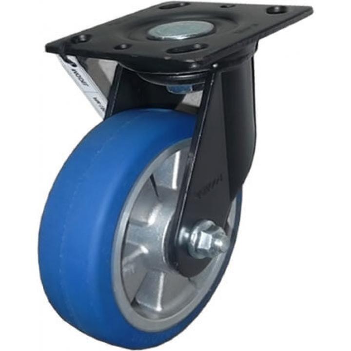 Bánh xe tải trọng trung bình PU Footmaster PM-150A-SF-MUD