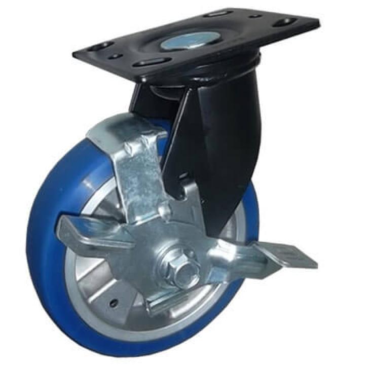 Bánh xe tải trọng trung bình PU Footmaster PM-150B-SF-MUD