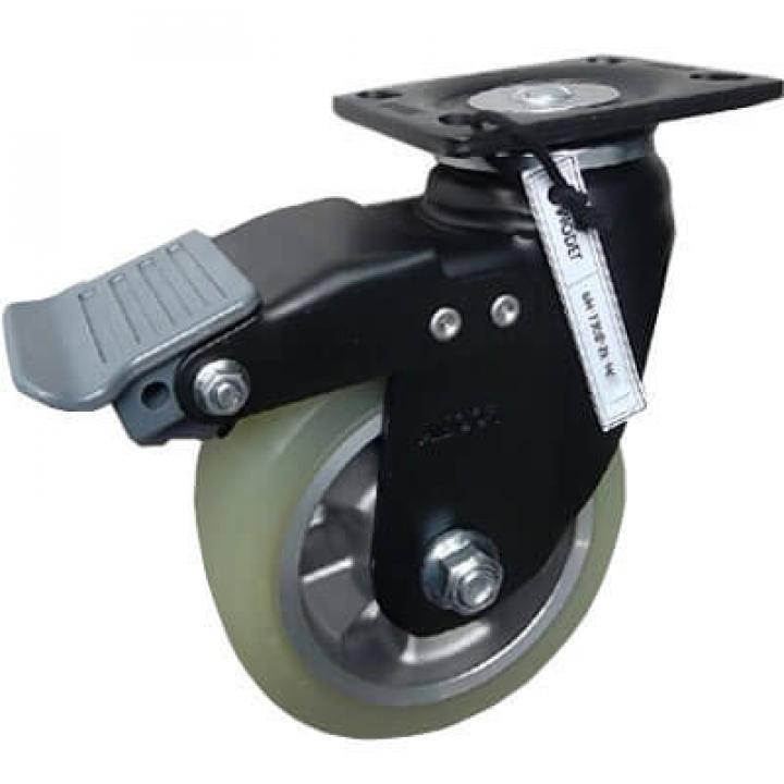 Bánh xe tải trọng trung bình PU Footmaster PH-100B-SF-HUD