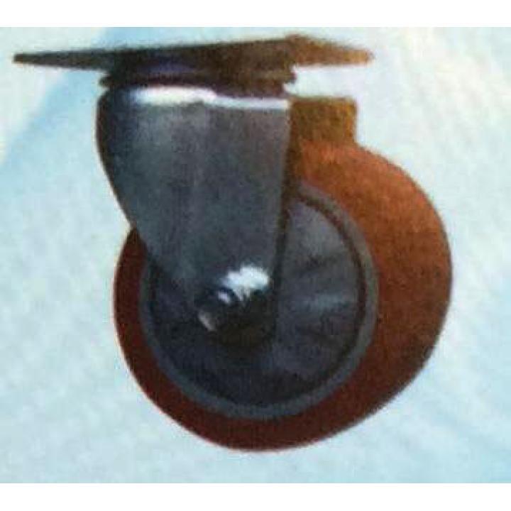 Bánh xe PU càng xoay Shenpai 157-075-PU-S