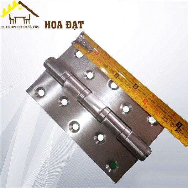 Bản lề lá cửa đi inox 304 dày 3mm 120mm HHL120YM (Cặp)