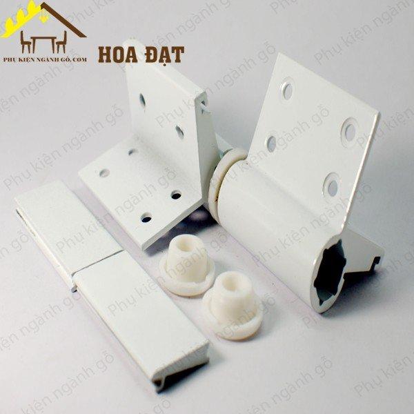 Bản lề cối cửa đi hoặc cửa sổ màu trắng sữa H0567 (Bộ)