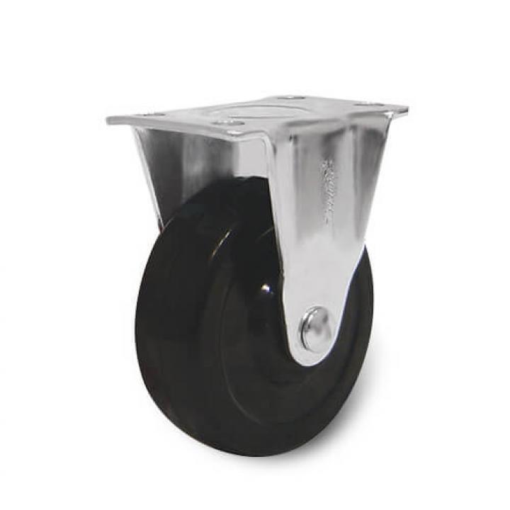 Bánh xe cao su tải trọng nhẹ cố định Ethos 162 ROA 025 P42