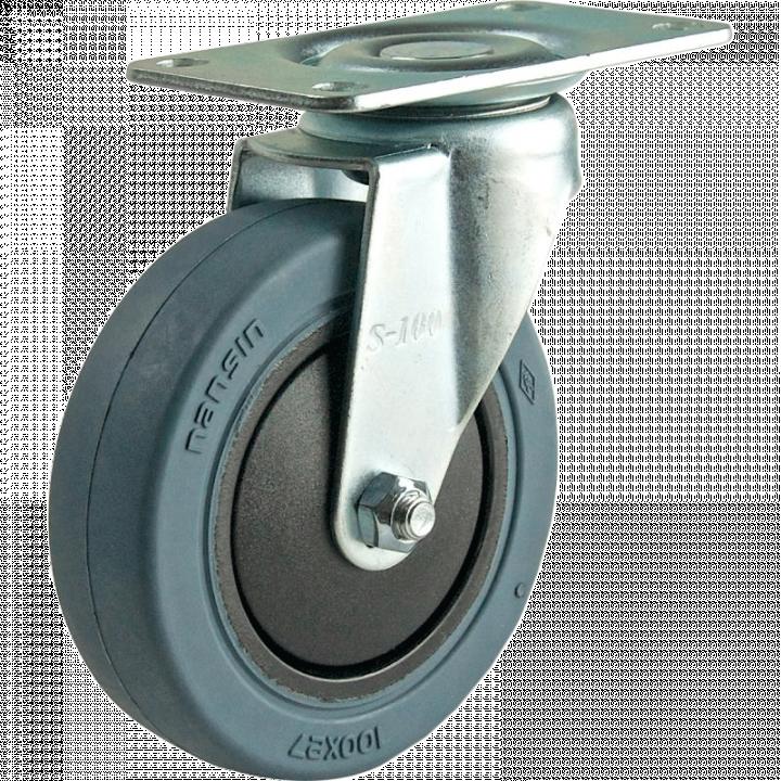 Bánh xe động không khóa Nansin TES-100 TB