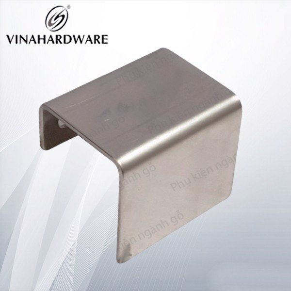 Tay nắm tủ inox móc ngăn kéo cao cấp dài 50mm cao 40mm SP000220