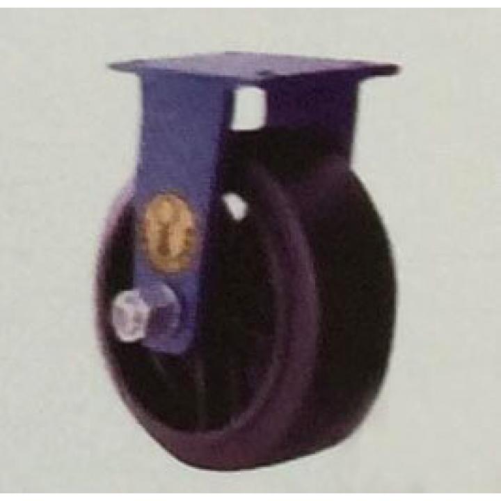 Bánh xe cao su càng cố định A Caster A8*3-RCI-F