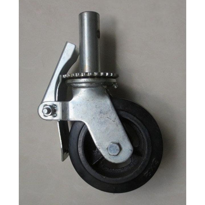 Bánh xe giàn giáo cao su gang A Caster A6-RCI-085160