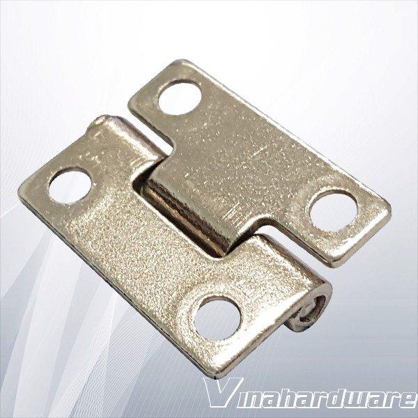 Bản lề lá 20mm*25mm xi nikel H2025 (cái)