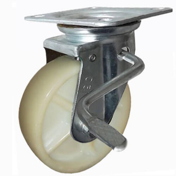 Bánh xe tải trọng trung bình nylon Ethos 663NPA130JB1