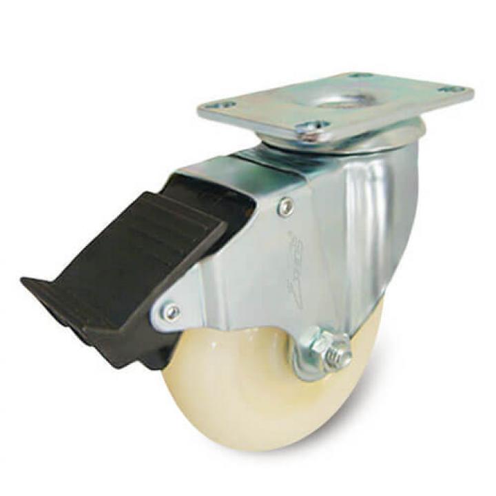 Bánh xe Nylon xoay thắng nhựa Ethos 253NIY125P01