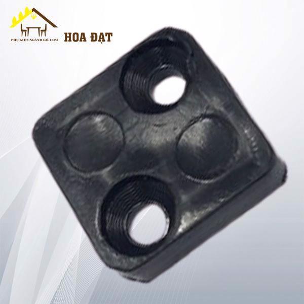 Chân đế vuông 2 lỗ vít màu đen 25x25 VNH2923599 (cái)