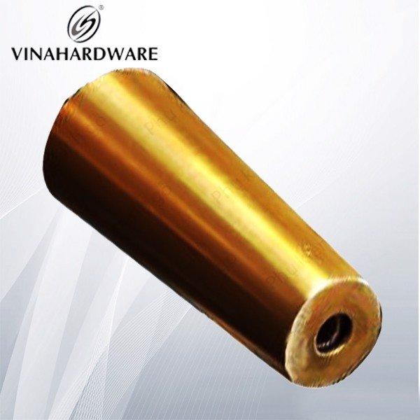 Gia công ống côn màu đồng chụp chân bàn ghế SP028478 (Cái)