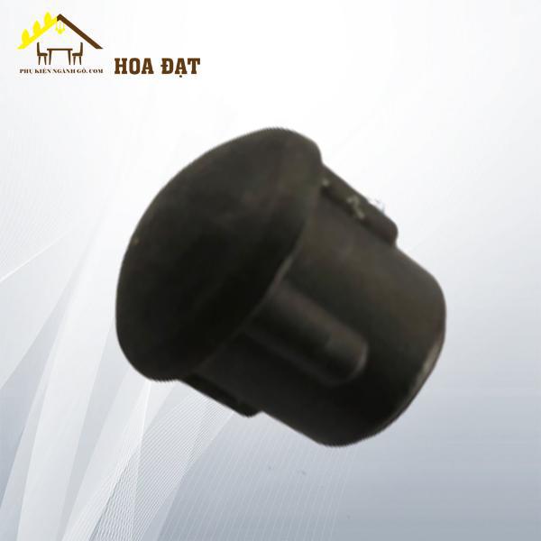 Nút chụp nhựa đen, chụp trong chân bàn phi 16mm NNB16T (kg)