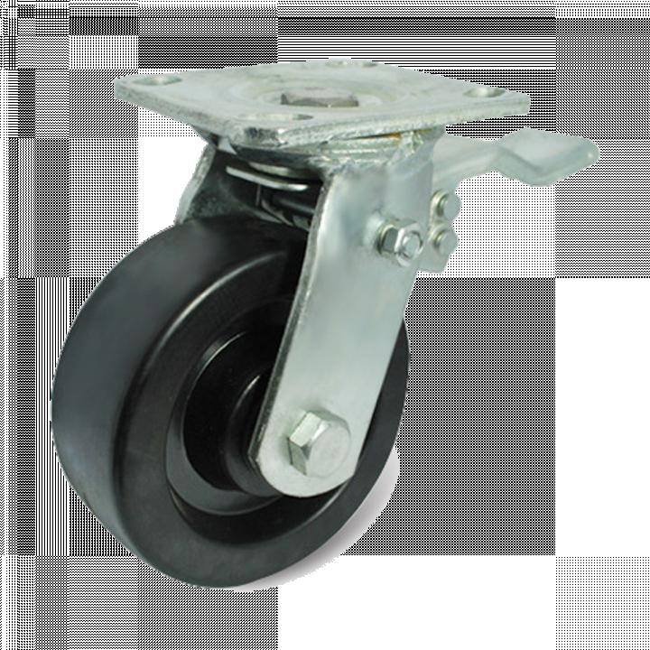 Bánh xe tải trọng trung bình Phenolic Ethos 493XHQ200P45