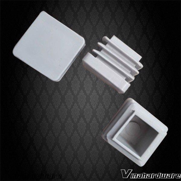 Chân đế nhựa vuông 12mm (đế 14x1mm) trắng xám PB12WG (Cái)