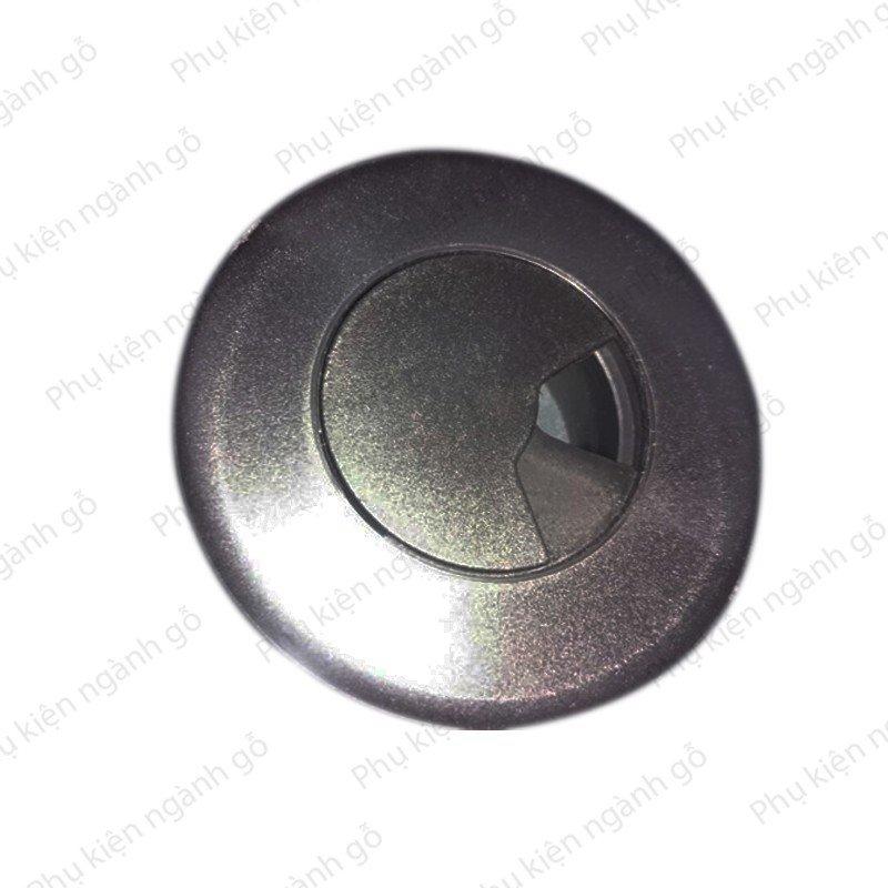 Nắp luồn dây điện màu đen 60mm W6015B