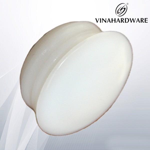 Nắp nhựa chụp lỗ vít màu trắng M15 WC224