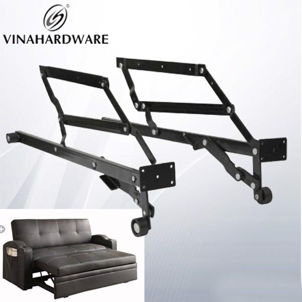 Tay nâng ghế sofa thành giường xếp gọn có bánh xe dài 730mm P4513