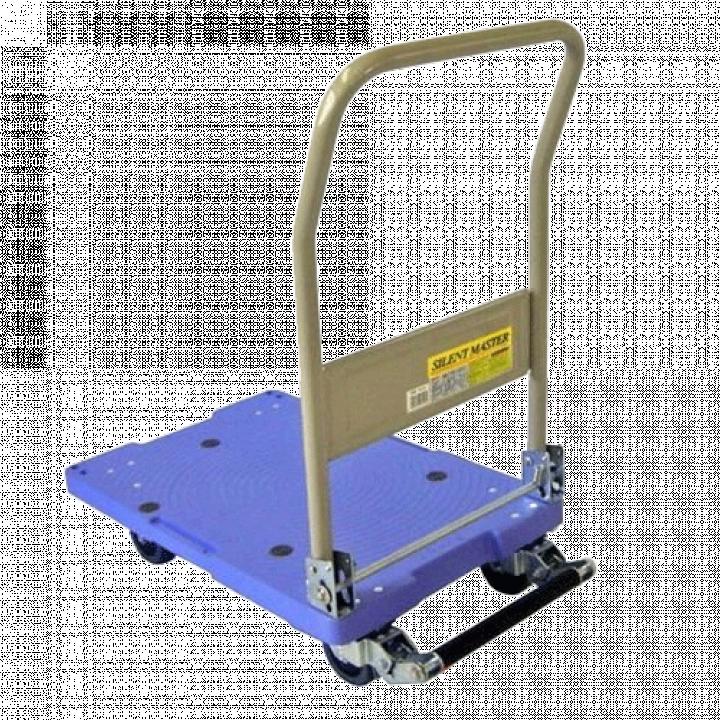 Xe đẩy hàng sàn nhựa Nansin DSK-101B (Có khóa)