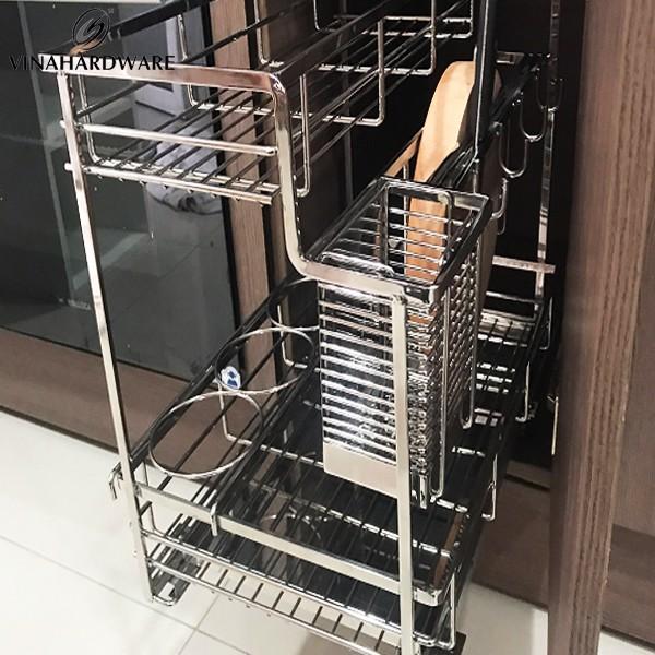 Kệ gia vị đa năng phụ kiện tủ bếp (nhiều loại) Inox 304 SP00307 (Cái)