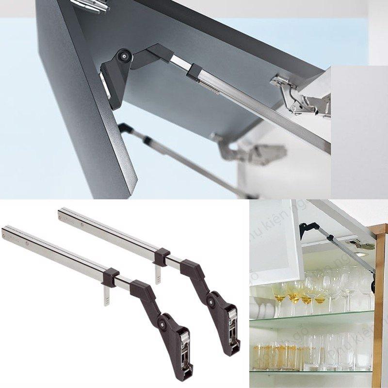 Tay nâng / Cây chống cửa tủ bếp hai cánh gấp LD949