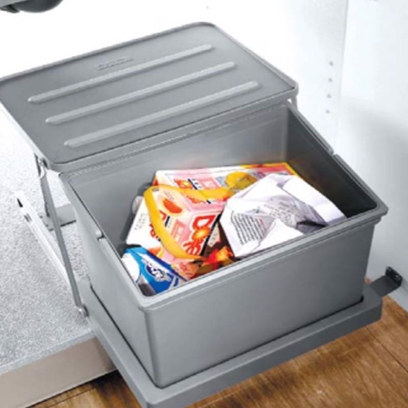 Thùng đựng rác thông minh cao cấp rộng 400mm SP002585