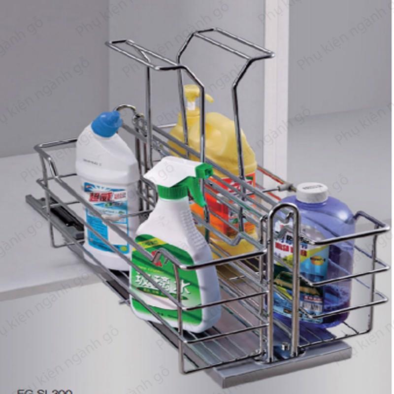Giá đựng chai lọ tẩy rửa 350mm SP002333 (Bộ)