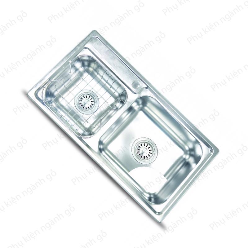 Chậu rửa chén inox 304 (860x450x210mm) SP002341