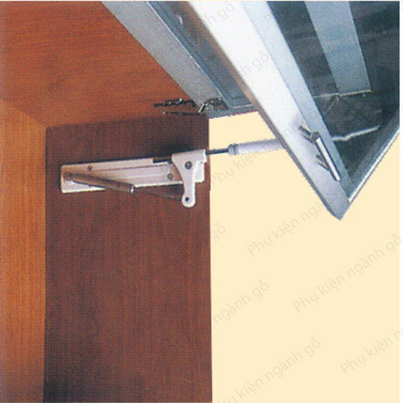 Tay nâng cửa tủ loại 2 cánh đứng TL9389 (bộ)