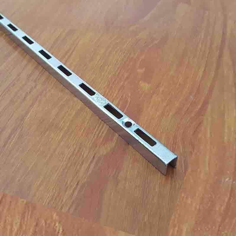 Thanh ray gắn tường 1000mm xi inox TR1000Z23