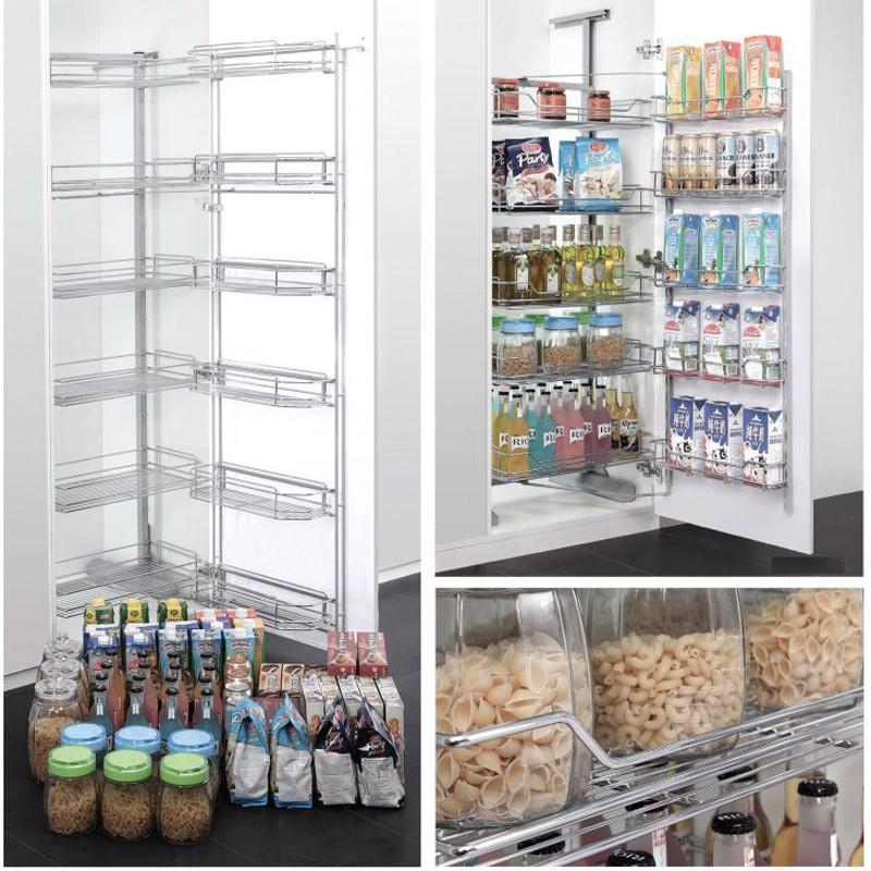 Giá kệ để gia vị thực phẩm loại lớn nhiều tầng mở cánh SP000157