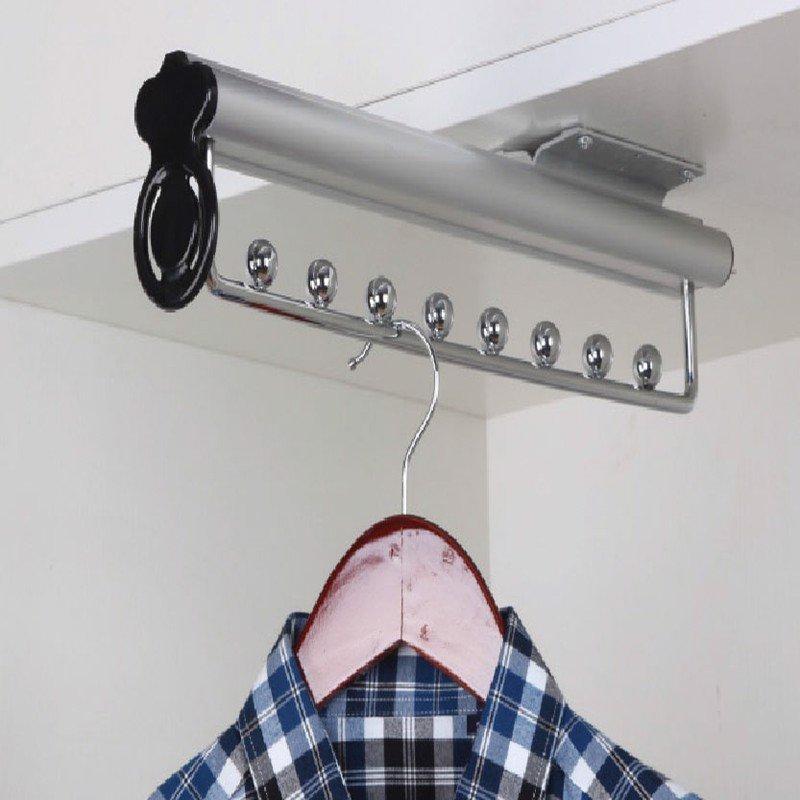 Móc mắc treo quần áo thu xếp gọn dài 480mm SP000147