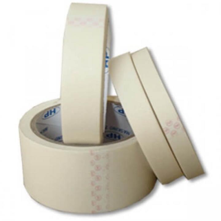 Băng keo giấy trắng sữa THL 24mm x 30m, M150