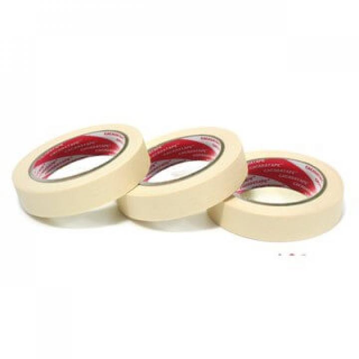 Băng keo giấy trắng sữa, KN2 THL M140, 10mmx30m