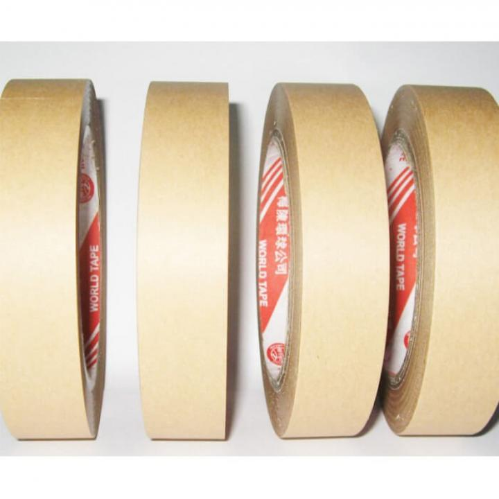 Băng keo giấy nâu Đài Loan 60mm x 50Y