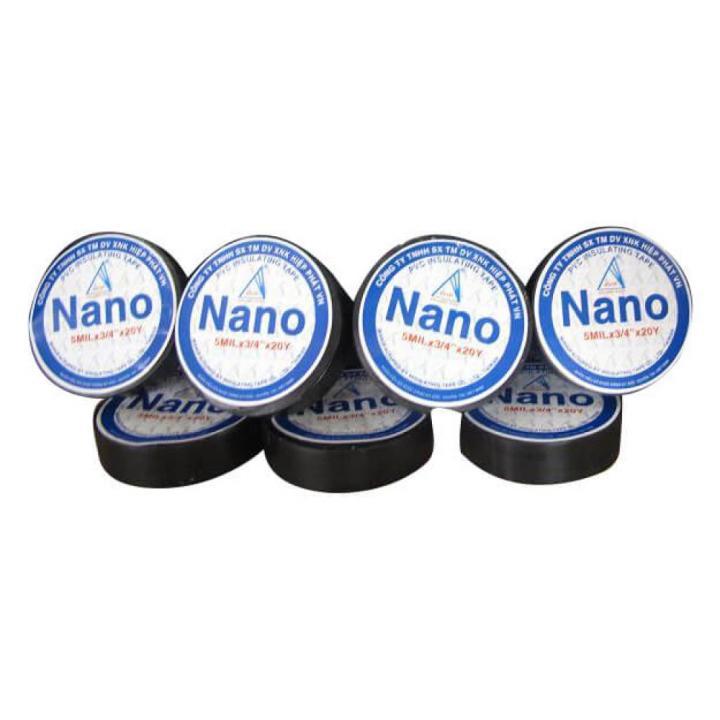 Băng keo điện nanonai Hưng Long 1.8f x 20y