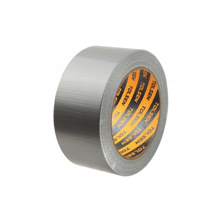 Băng keo vải Duct Tape siêu dính Tolsen 50281 (48mm x 25m)