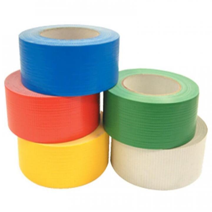Băng keo vải 48mmx14Y (xanh dương, nâu, đỏ, xám)