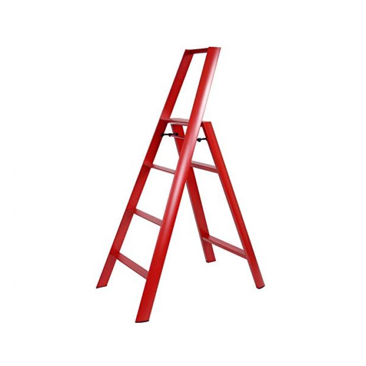 Thanh nhôm ghế 4 bậc Lucano ML2.0-4 màu đỏ