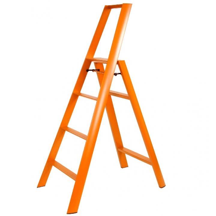 Thanh nhôm ghế 4 bậc Lucano ML2.0-4 màu cam